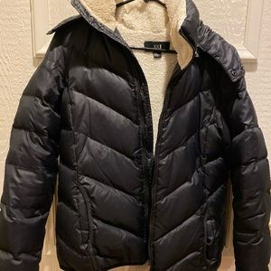 Women's Forever21 warm puffy jacket-size L